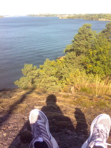Picture of me on a hill over the occean:Its great to find a peaceful place and think for yourself alteast once a week