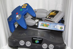 Picture of Nintendo 64 with games and procrastination